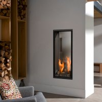 BELLFIRES Fireplaces Vertical Bell Large Tunnel (65 x 135 ...