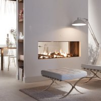 LINEAFIRE Fireplaces Horizontal 240 Tunnel, Wood and Gas ...
