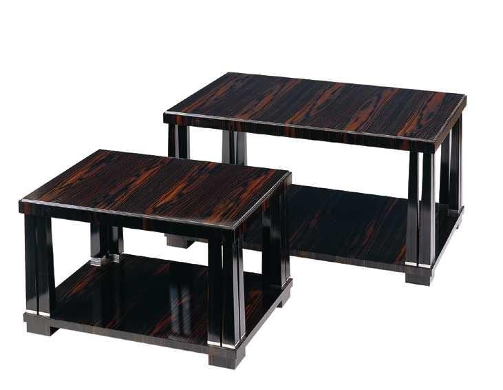 Art Deco Macassar Ebony Coffee Table.