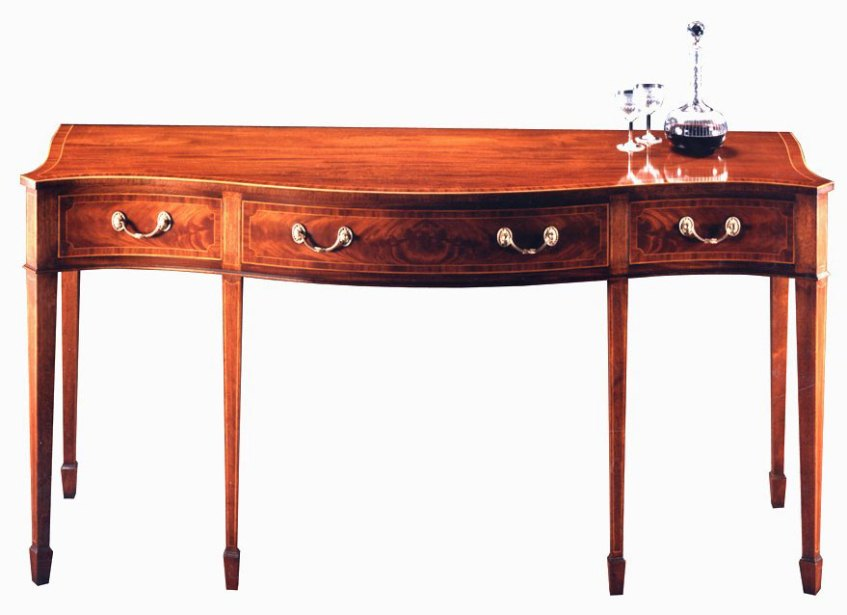 Sheraton Style Serving Table.