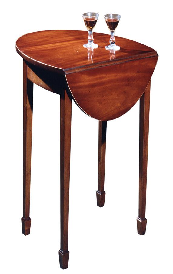 Mahogany Sheraton Style Pembroke Table.