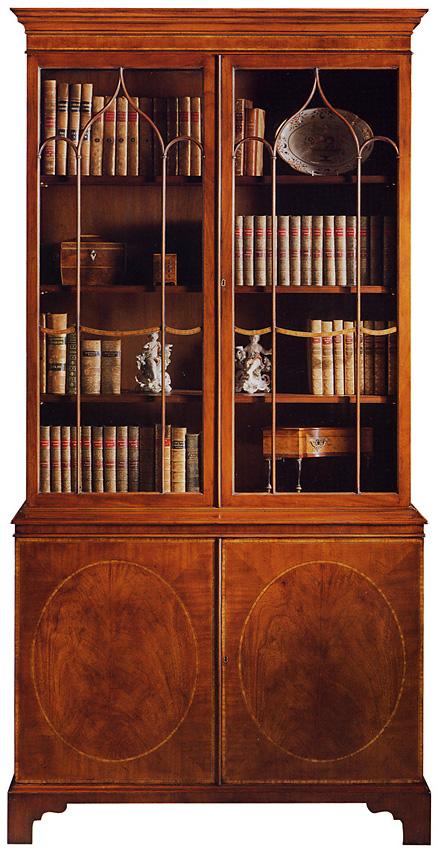 Mahogany Georgian Style Bookcase