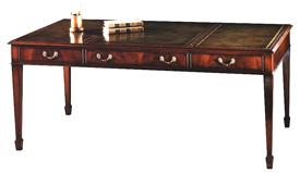 Mahogany Sheraton Style Writing Table.