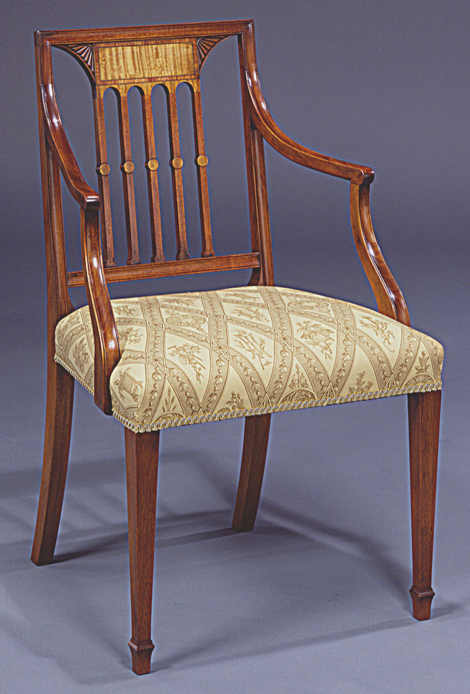 Sheraton Style Dining Chair.