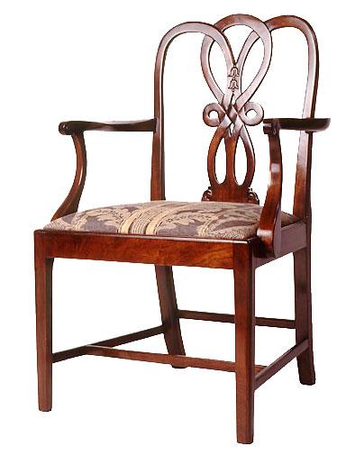 George III style Mahogany Dining Chair.