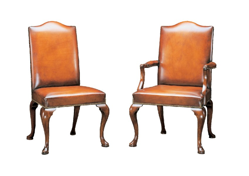 Georgian Style Upholstered Chair