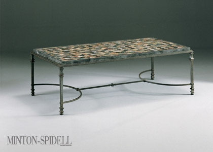 Chandler Iron & Glass Table