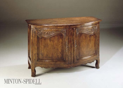 French Bowfront Chest