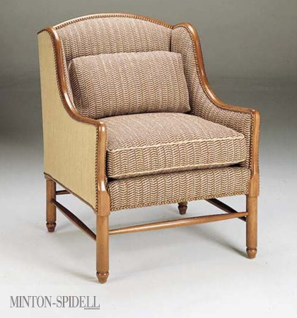 French Normandie Wing Chair