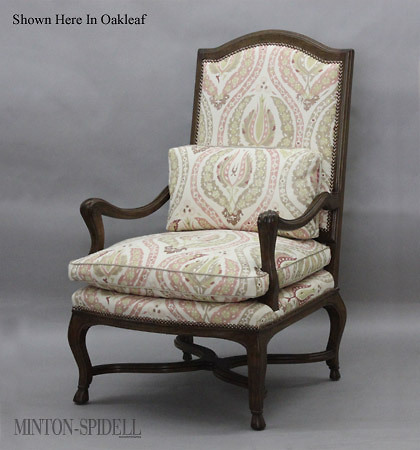 Regence Chair w/ Stretcher