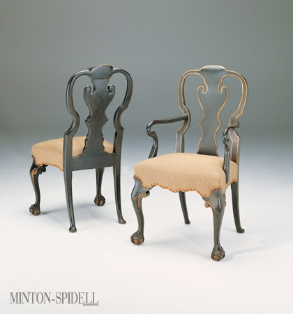 Ball & Claw Dining Arm Chair