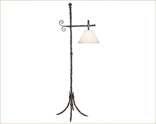 Rustic Reading Lamp