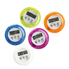 Digital Kitchen Timers Of India Set 5 Alarm Clocks Colors Wood And Tools