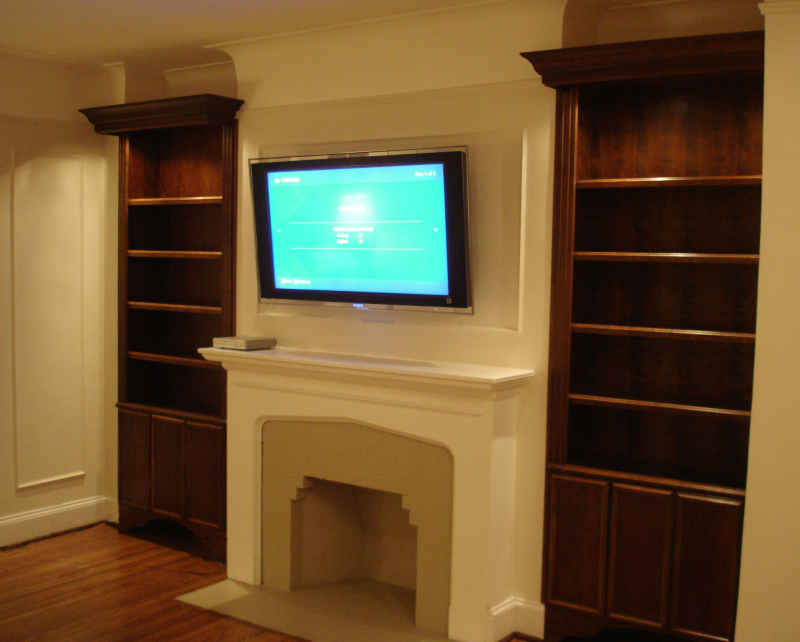 kitchen cabinet restoration contemporary rugs fireplace bookshelves
