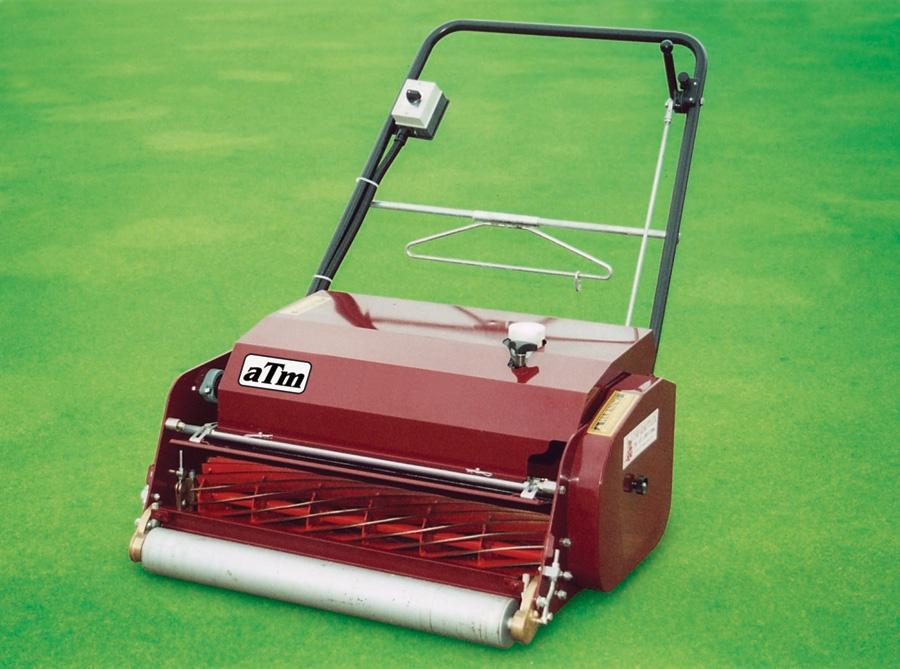 atm lawn mower wood