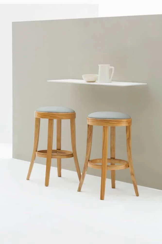 Toscana Noback Kitchen Stool  Conveniently petite and