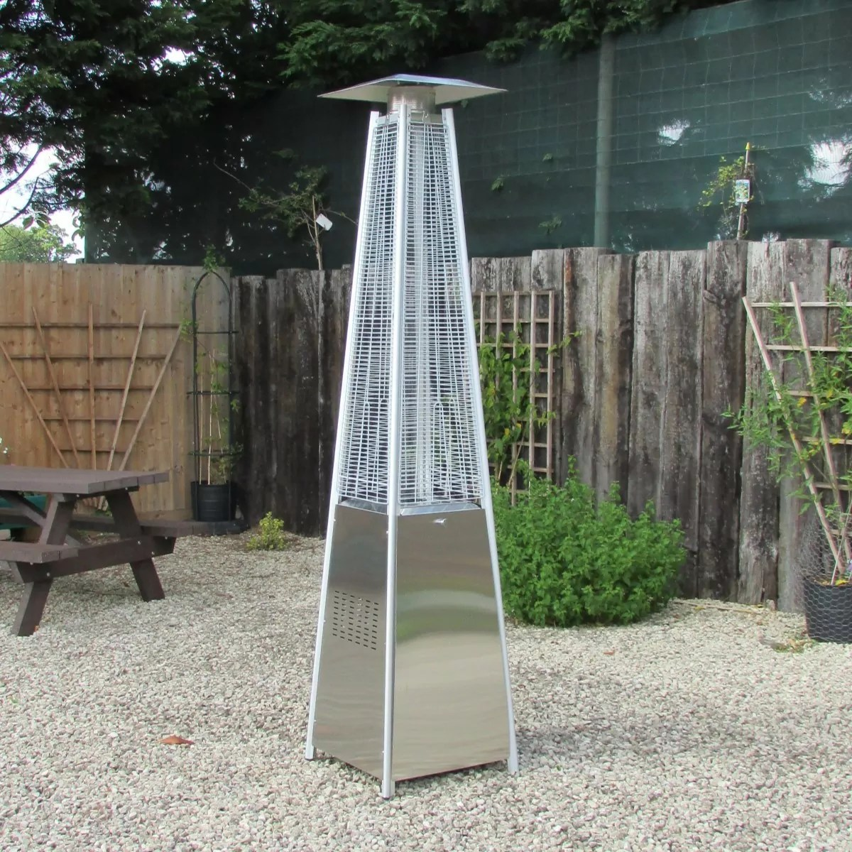 pyramid gas patio heater