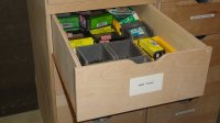 Woodshop Storage Cabinet  WoodBin