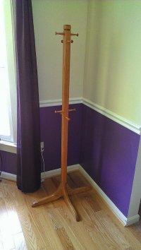 Coat Rack  WoodBin