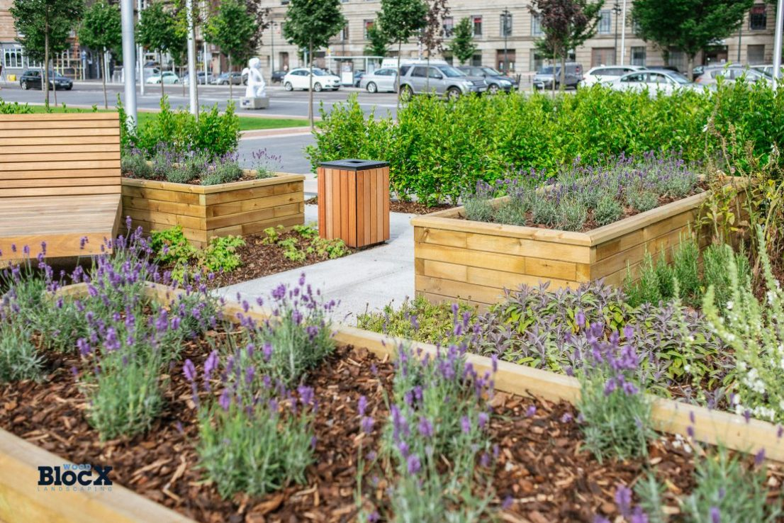 Dundee Waterfront Planters