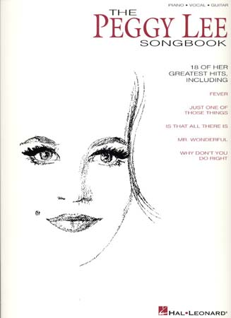 Peggy Lee sheet music books scores (buy online).
