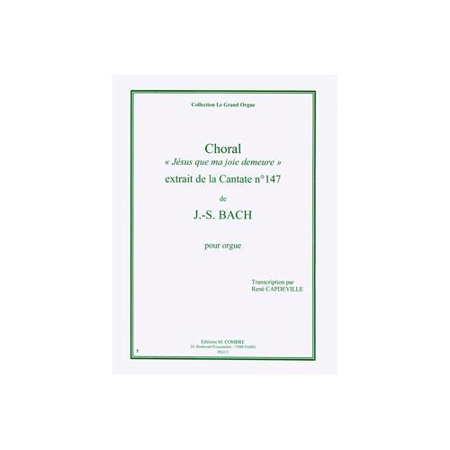 Sheet Music : Jesus Que Ma Joie Demeure (Organ, Trumpet