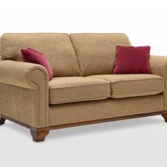 Tuscany 3 Seater Leather Sofa Italian Brand Names Lavenham Formal Back Medium - Wood Bros