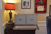 Steamer Trunk File Cabinet