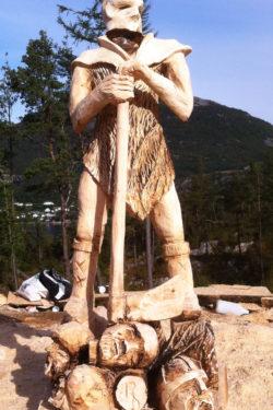 Viking evenement in Noorwegen