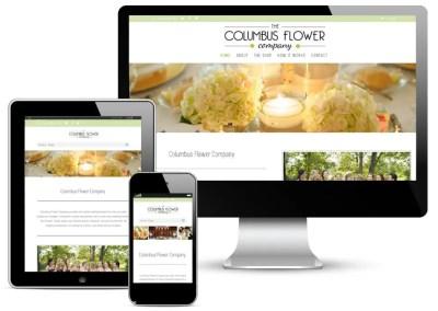 Columbus Flower Company Website