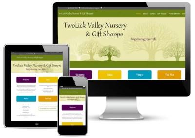 TwoLick Valley Nursery Website Design