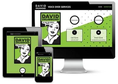 Drummond Voice Website
