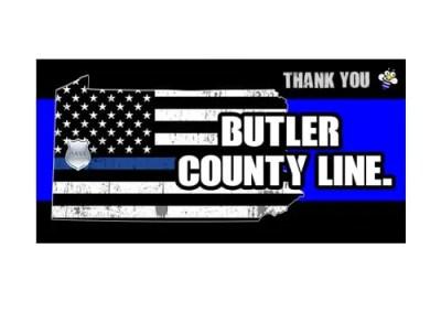 Police Support Billboard Design