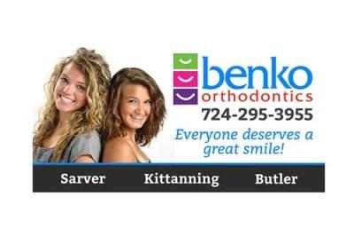 Benko Orthodontics Billboard Design