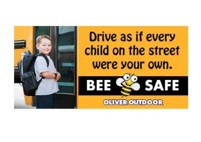 School Bus Safety Billboard Design