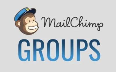 Mailchimp's Group Feature