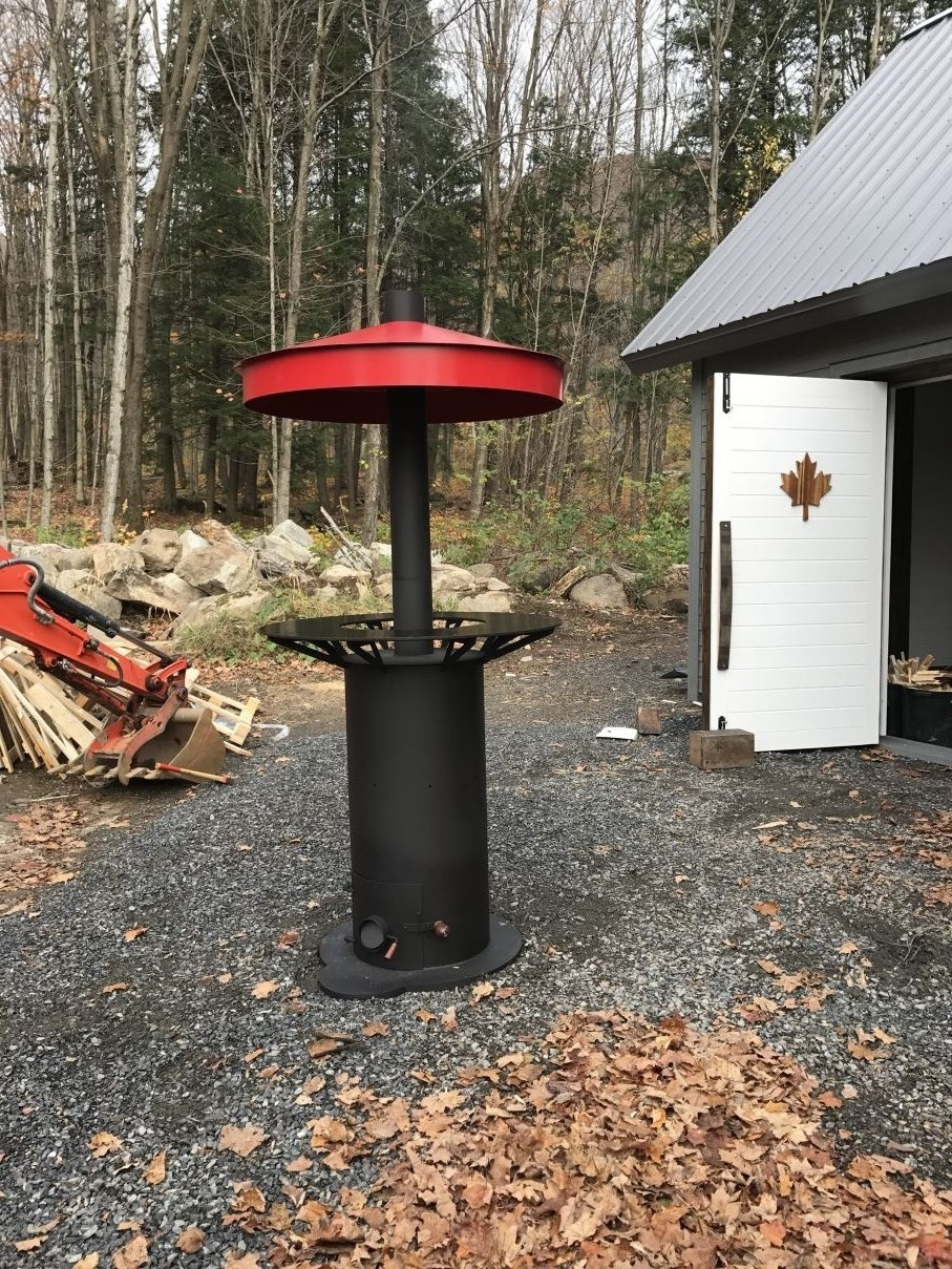 Outdoor Wood Stove