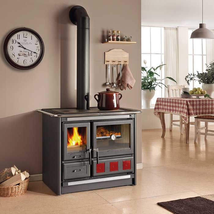 kitchen cook stoves how much are new cabinets wood burning stove la nordica rosa xxl