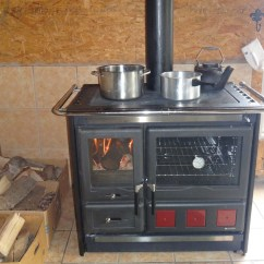 Kitchen Cook Stoves Composite Sink Wood Burning Stove La Nordica Rosa Xxl Cooking Canada