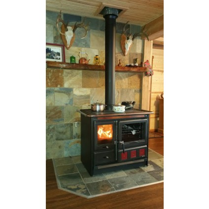 kitchen cook stoves outdoor table wood i burning canada rosa xxl stove by la nordica