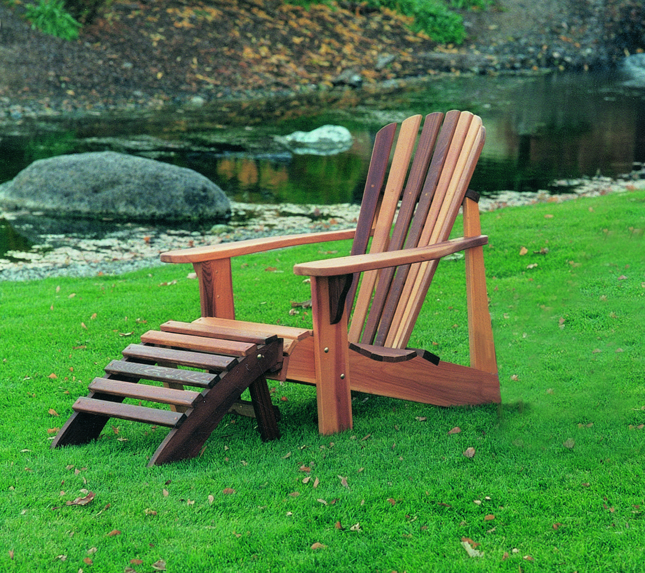 adirondack chair wood wooden accent chairs types for country cedar