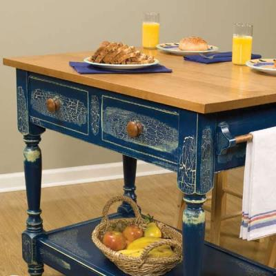 magazine classic project plans large plans country kitchen work table