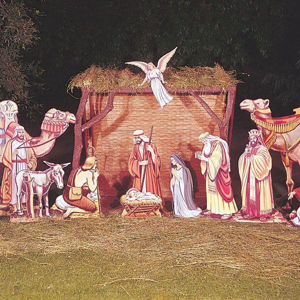 plans for wooden nativity set