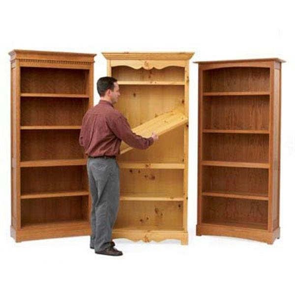 bookcase plans woodworking free