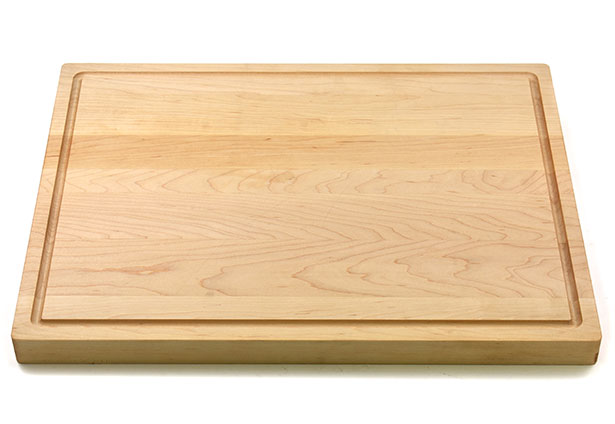 kitchen cutting boards aid dishwashers made in america flat grain butcher board with juice groove