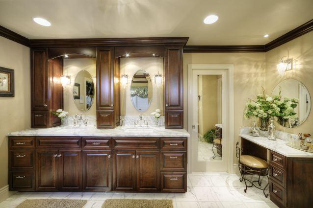 Sacramento Custom Bathroom Cabinet Design Gallery