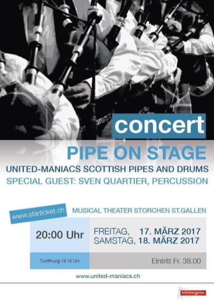 Pipe on Stage