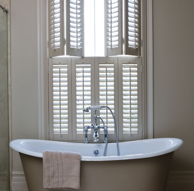 Bathroom With Shutters