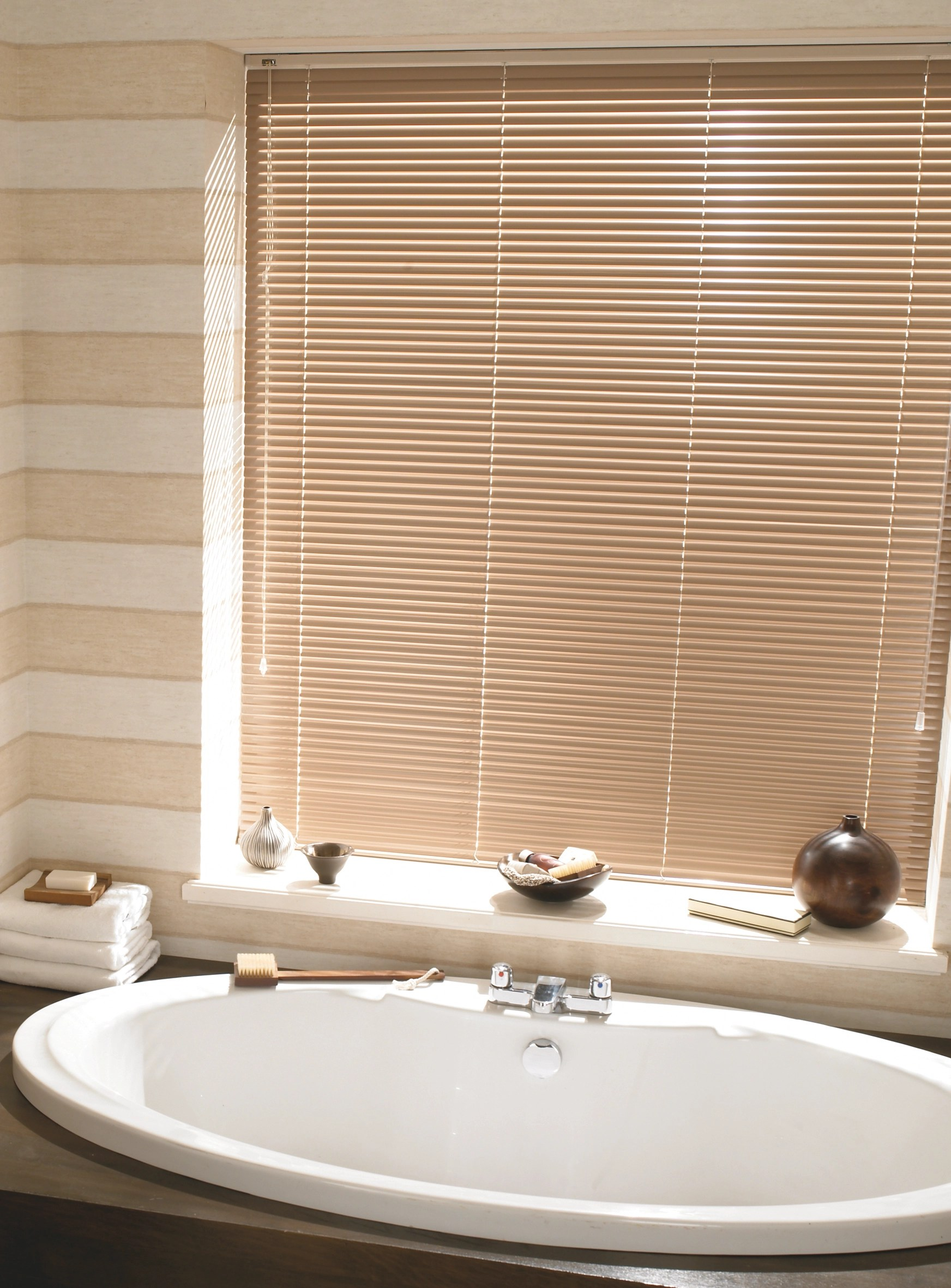 Which Blinds are Best for Bathrooms  Wooden Blinds Direct