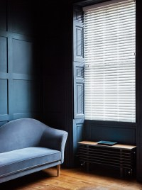 Wooden Blinds in Living Rooms | Wooden Blinds Direct